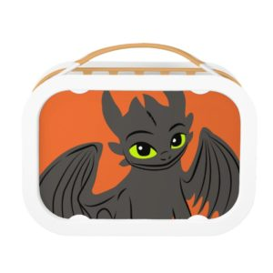 Toothless Sitting Illustration Lunch Box