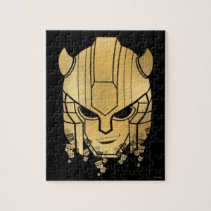 Transformers | Bumblebee Disintegrated Badge Jigsaw Puzzle
