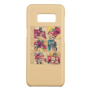 Transformers | Optimus Prime Comic Strip Case-Mate Samsung Galaxy S8 Case