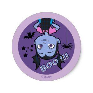 Vampirina | Boo Purple Badge Classic Round Sticker