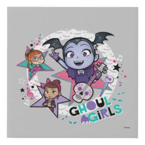 Vampirina | Ghoul Girls Faux Canvas Print