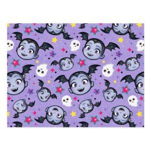 Vampirina   Super Sweet Purple Pattern Postcard