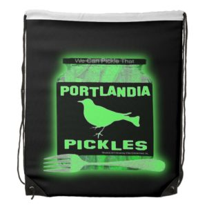 We Can Pickle That Drawstring Bag