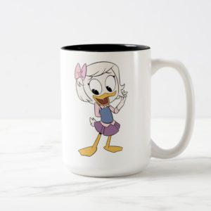 Webby Vanderquack Two-Tone Coffee Mug