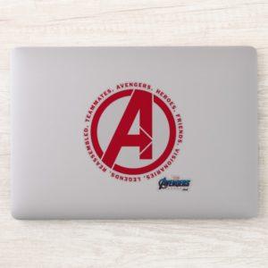 Avengers: Endgame   Avengers Attributes Logo Sticker