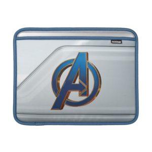 Avengers: Endgame | Avengers Blue & Gold Logo MacBook Air Sleeve