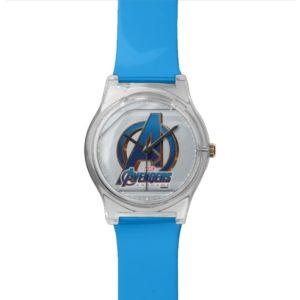 Avengers: Endgame   Avengers Blue & Gold Logo Watch