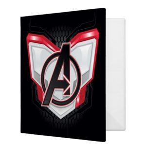 Avengers: Endgame   Avengers Chest Panel Logo 3 Ring Binder