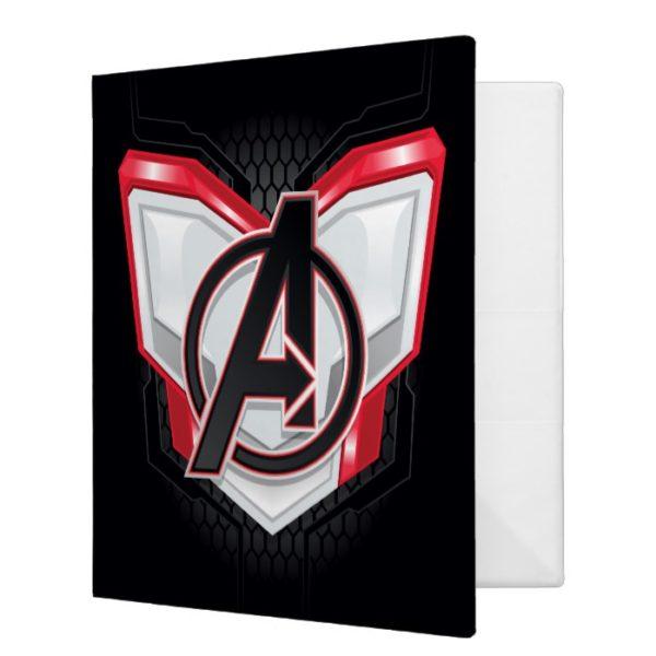 Avengers: Endgame | Avengers Chest Panel Logo 3 Ring Binder