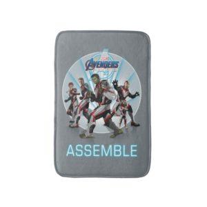 Avengers: Endgame   Avengers Group Stance Graphic Bath Mat