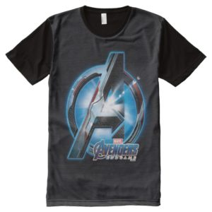 Avengers: Endgame | Avengers Hi-Tech Logo All-Over-Print Shirt