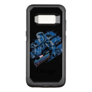 Avengers: Endgame | Blue Avengers Group Graphic OtterBox Commuter Samsung Galaxy S8 Case