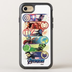 Avengers: Endgame   Heroes & Icons Graphic OtterBox iPhone Case