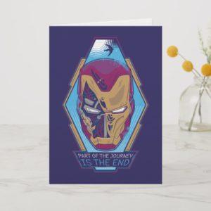 "Avengers: Endgame   Iron Man ""Part Of The Journey"" Card"