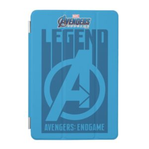 "Avengers: Endgame   ""Legend"" Avengers Logo iPad Mini Cover"