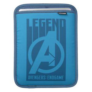 "Avengers: Endgame   ""Legend"" Avengers Logo iPad Sleeve"