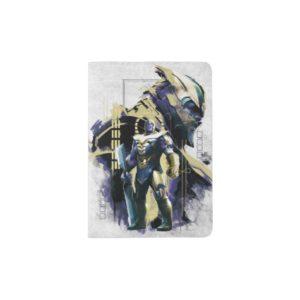 Avengers: Endgame | Thanos Character Graphic Passport Holder