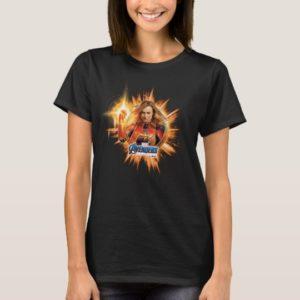 Avengers: Endgame | Captain Marvel Avengers Logo T-Shirt