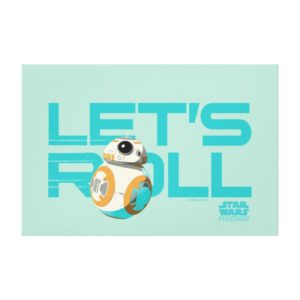 BB-8 | Let's Roll Canvas Print