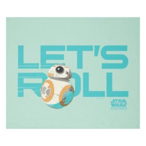 BB-8 | Let's Roll Fleece Blanket