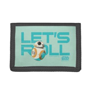 BB-8 | Let's Roll Trifold Wallet