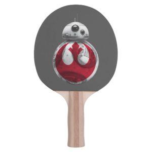 BB-8 | Rebel Alliance Symbol Ping Pong Paddle