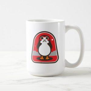 Cartoon Porg Badge Coffee Mug