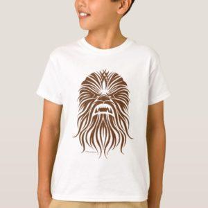 Chewbacca | Brown Tribal T-Shirt