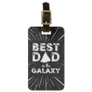 "Darth Vader ""Best Dad in the Galaxy"" Bag Tag"