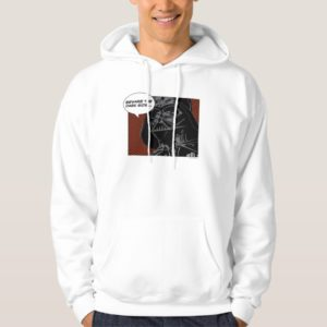 "Darth Vader Comic ""Beware The Dark Side"" Hoodie"