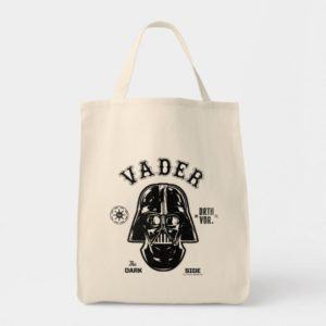 Darth Vader Dark Side Badge Tote Bag