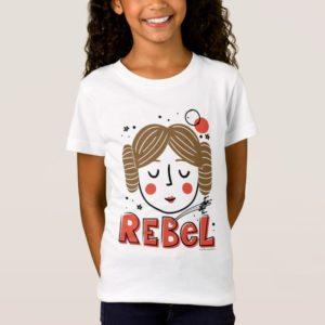 Princess Leia Doodle T-Shirt