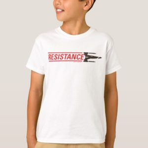 Resistance X-Wing Typography T-Shirt