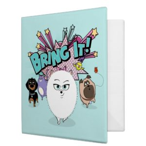 Secret Life of Pets | Bing It! 3 Ring Binder