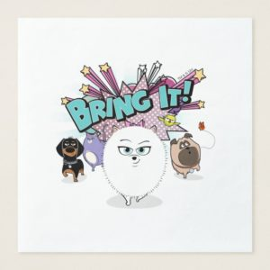 Secret Life of Pets | Bing It! Paper Dinner Napkin