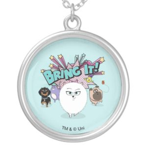Secret Life of Pets | Bing It! Silver Plated Necklace