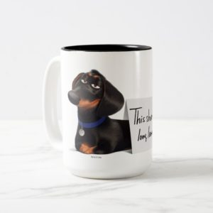 Secret Life of Pets | Buddy - Low, Low, Low Two-Tone Coffee Mug