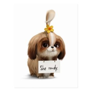 Secret Life of Pets | Daisy - She Ready Postcard