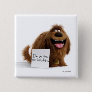 Secret Life of Pets | Duke See-Food Diet Button