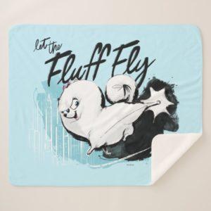 Secret Life of Pets - Gidget | Let the Fluff Fly Sherpa Blanket
