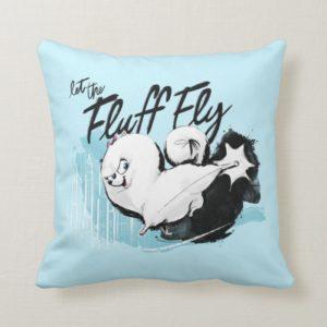 Secret Life of Pets - Gidget | Let the Fluff Fly Throw Pillow