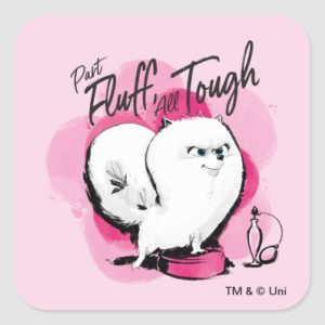 Secret Life of Pets - Gidget | Part Fluff Square Sticker