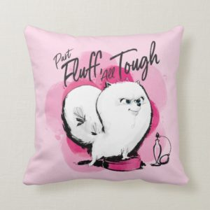 Secret Life of Pets - Gidget | Part Fluff Throw Pillow