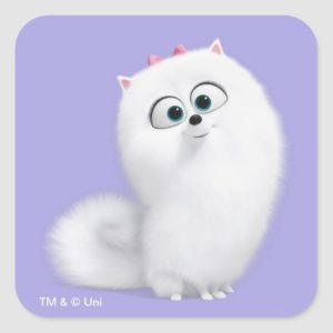 Secret Life of Pets - Gidget Square Sticker