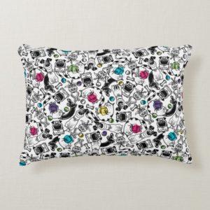Secret Life of Pets Happy Pattern Accent Pillow