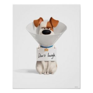 Secret Life of Pets | Max - Don't Laugh Poster