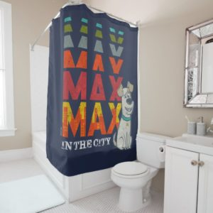 Secret Life of Pets - Max in the City Shower Curtain