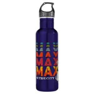 Secret Life of Pets - Max in the City Stainless Steel Water Bottle
