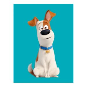 Secret Life of Pets - Max Postcard