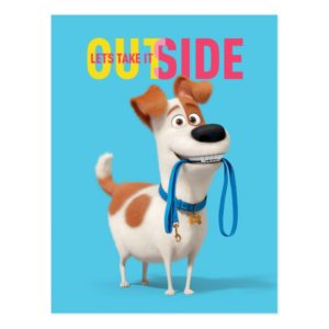 Secret Life of Pets - Max | Take it Outside Postcard
